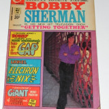 CHARLTON COMICS - BOBBY SHERMAN NR 3/1972. BENZI DESENATE