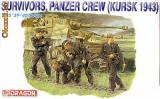 + Macheta 1/35 Dragon 6129 - Survivors, Panzercrew (1943) +