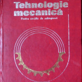 Tehnologie Mecanica Pentru Sectiile De Subingineri - Gh. Calea, D.Drimer, Gh.Amza