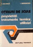 Oteluri De Scule Proprietati, Tratamente Termice, Utilizari - T. Dulamita, I. Gherghiescu