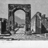 VEDERE ITALIA POMPEI ARCO di CALIGOLA - VED 503