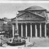 VEDERE ITALIA ROMA IL PANTHEON- VED 498
