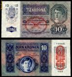AUSTRIA UNGARIA 10 KRONEN KORONA COROANE 1915 UNC