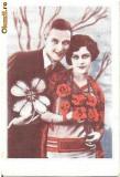 T FOTO 98 Romantica -Indragostiti -foto ce desemna regina balului -Costica, D-rei Veta Enache -parafa Frontul Plugarilor, Com. Berceni-Prahova