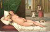 T FOTO 84 Romantica -Venere Coricata -Tiziano Vecelli -Firenze -tanara nud -superba -interesanta pentru reproducerea intr-un tablou