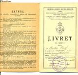 LIVRET de membru cooperativa SPERANTA din Razboieni, Documente
