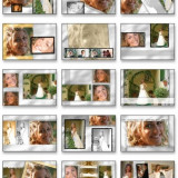 Album 240 Template -uri PSD ( Nunti / Wedding Template ) - Software Editare video