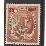 No(03)timbre-Planul Cincinal 1952-L.P.320a - Timbre Romania