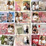 Album 100 Invitatii PSD Nunti ( Wedding Template ) - Software Editare video