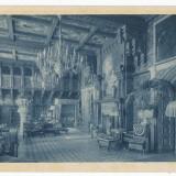 CFL 1910 ilustrata Castel Peles Sinaia judetul Prahova camera pentru muzica