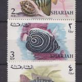 Timbre Sharjah 1966 Pesti Lot nestampilate