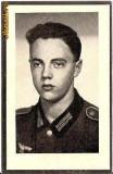 V FOTO 15 Necrolog -Militar german Gefreiter Max Krenn , cazut in razboi, la varsta de 19 ani si jumatate -cruce cu zvastica 1939