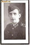 V FOTO 22 Necrolog -Militar german Gefreiter Alois Schiebl ?-Regiment de Grenadieri , cazut in razboi la 14.8.1944, la varsta de 23 ani-cruce zvastica