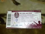 Bilet meci de fotbal - Liga 1 - CFR Cluj - Dinamo Bucuresti - 17.10.2008