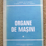 ORGANE DE MASINI - D. Pavelescu, M. Gafiteanu