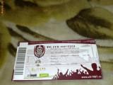 Bilet meci de fotbal - Divizia A - FC CFR Cluj - Unirea Alba Iulia - 24 aprilie 2010