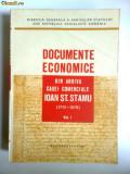 RARA BUCURESTI-DOCUMENTELE CASEI COMERCIALE I.STAMU 1717-1876,VOL1