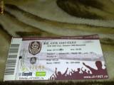 Bilet meci de fotbal - Divizia A - CFR Cluj - Dinamo Bucuresti - 07 . 11.  2010