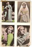V FOTO 95 Marlene Dietrich , in patru ipostaze -pare antebelica
