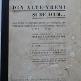 Ghermanescu, Din alte vremi si de acum, anecdote, povestiri, 1934, editia 1 - Carte Editie princeps