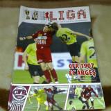 Divizia A - Program sportiv - fotbal - CFR Cluj - FC Arges - 16 noiembrie  2008