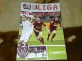 Divizia A - Program sportiv - fotbal - CFR Cluj - Unirea Alba Iulia - 24 aprilie 2010