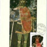 Ilustrata Maxima Pictura - Mircea cel Mare, portret votiv, Cozia