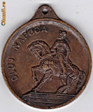 Medalie statuia Mihai Viteazul ,Emblema comunista a judetului Cluj