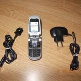 SAMSUNG Z140v - Telefon Samsung, Argintiu, Vodafone, Cu clapeta, 176x220 pixeli, 256K
