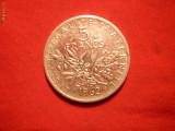 5 FRANCI 1962 FRANTA ,argint ,cal.F.Buna, d=2,9cm.
