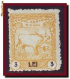 Romania 1925 - Timbru fiscal local Fondul Zootehnic Cluj 3 Lei