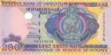 VANUATU bancnota 200 Vatu 2006 P-8b UNC necirculata