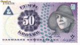 DANEMARCA █ bancnota █ 50 Kroner █ 2006 █ P-60c █ UNC █ necirculata