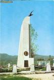 CP195-21 Campina -Banesti: Monumentul lui Aurel Vlaicu - carte postala, necirculata -starea care se vede