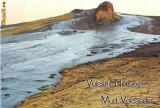 CP196-62 Vulcanii Noroiosi - Buzau -carte postala, necirculata -starea care se vede