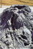CP196-58 Vulcanii Noroiosi - Buzau -carte postala, necirculata -starea care se vede