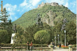 CP196-10 Deva. Cetatea (sec.XV)(jud. Hunedoara) -scrisa -carte postala, necirculata -starea care se vede