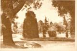 R 9052 Republica Populara Romana Rimnicu Valcea vedere din parc circulata
