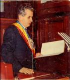 OMAGIU - NICOLAE CEAUSESCU ED 1973