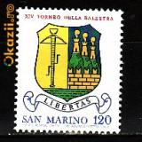 San Marino Blazon,U272