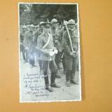 Carte Postala Depunerea Juramantului Calarasi 1936 - Fotografie veche