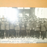 Carte Postala Grup ofiteri 1931 - Fotografie veche
