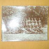 Fotografie Poligonul tragere Plutonul II Mitraliera 1934 - Fotografie veche
