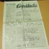 Ziar CAPITALA 2 - 3 Mai 1944 Reducere 30 % - Carte de aventura