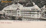 Ok-0823- Ro, Salut. Slanic Moldova, c.p. UPU necirc. apr.1902: Hotel Racovita I.