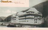 Ok-0822- Ro. Salut. Slanic Moldova, c.p. UPU necirc. apr. 1902: Hotel Racovitza