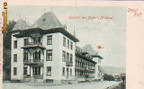 Ok-0821- Ro, Salut. Slanic Moldova, c.p. UPU necirc. apr.1902: Hotel Puff I.