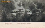 Ok-0826- Ro, Salutari Slanic Moldova, c.p. UPU necirc. apr.1902: Hotel Zimbru, Necirculata, Fotografie