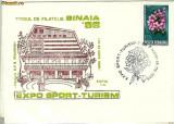 Plic special  Targul de filatelie Sinaia 86