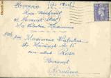 Plic circulat Anglia - Bucuresti   1950,